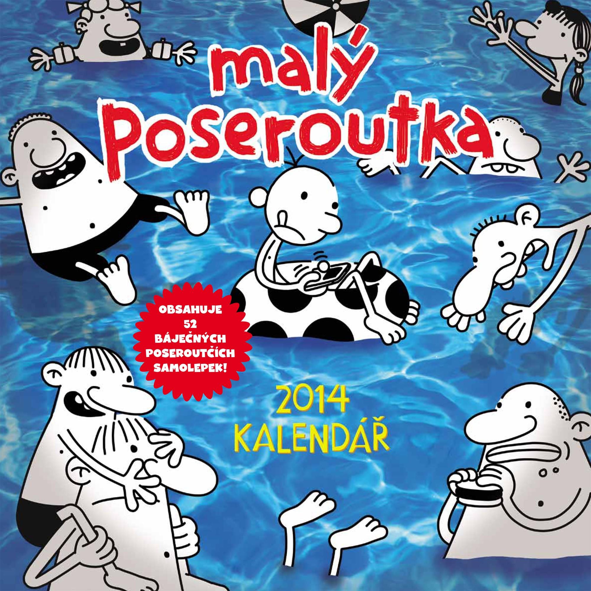 Kalendář malého poseroutky 2014