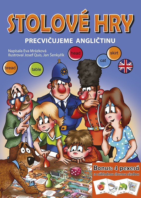 Stolové hry - Precvičujeme angličtinu
