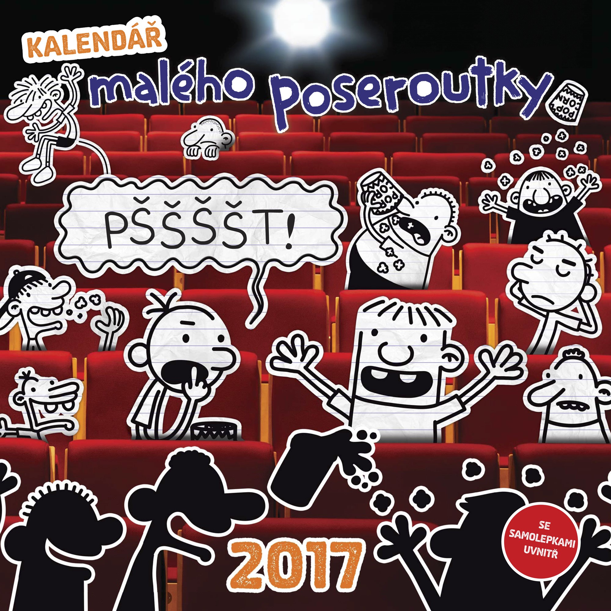 Kalendář malého poseroutky 2017