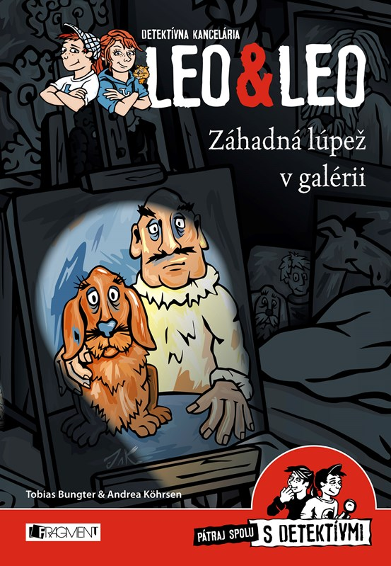 Detektívna kancelária Leo & Leo – Záhadná lúpež v galérii