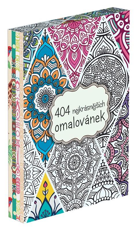 404 nejkrásnějších omalovánek BOX