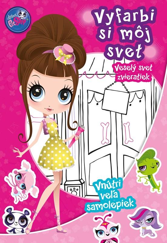 Littles Pet Shop - Vyfarbi si môj svet - Veselý svet zvieratiek
