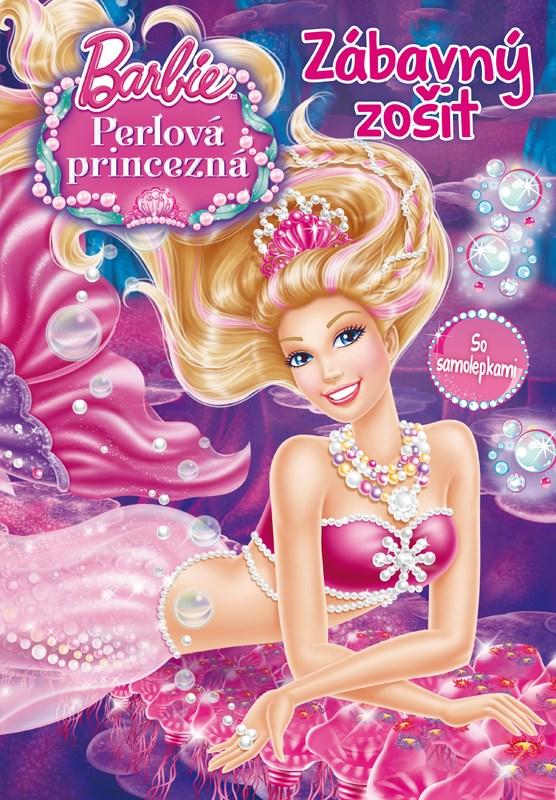 Barbie - Perlová princezná - Zábavný zošit so samolepkami