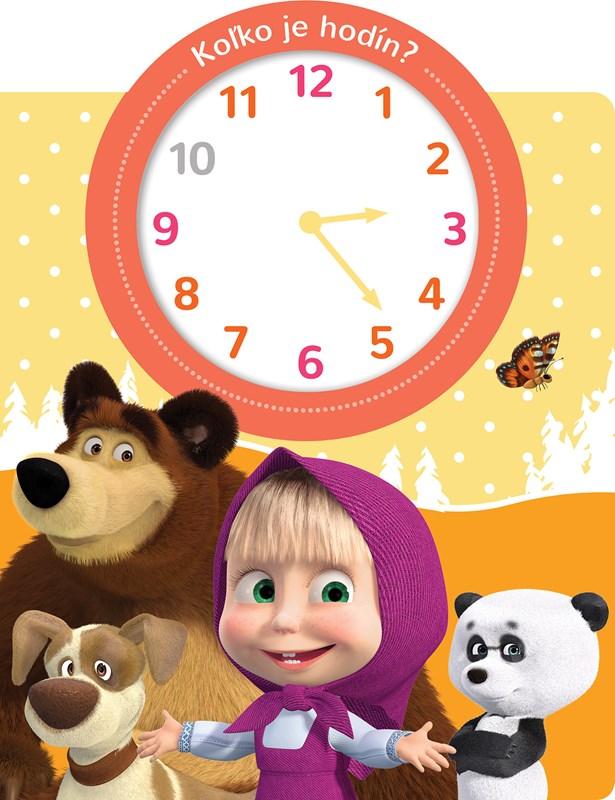 Máša a medveď Koľko je hodín?
