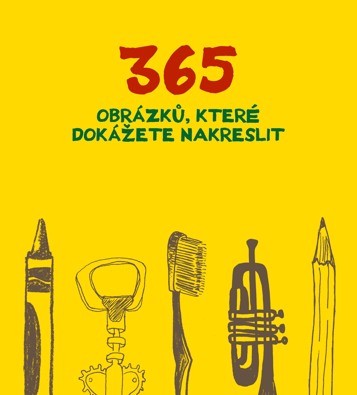 Kniha: 365 obrázků, které dokážete nakreslit
