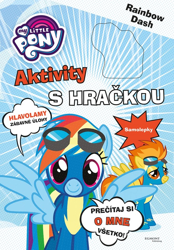 My Little Pony Aktivity s hračkou - Rainbow Dash