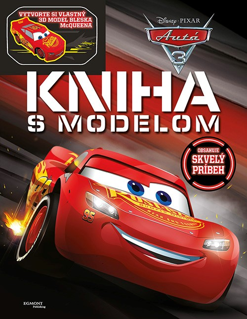 Autá 3 - Kniha s modelom