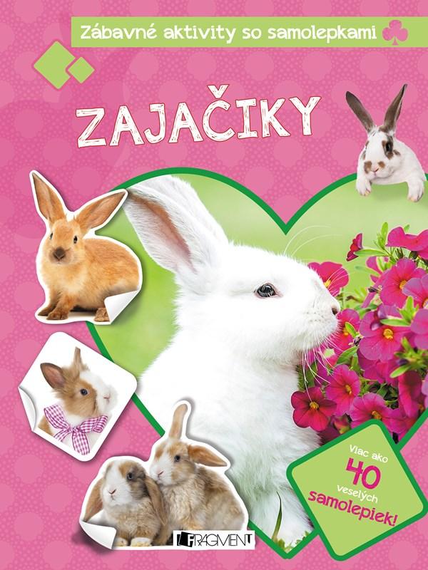 Zábavné aktivity so samolepkami - Zajačiky