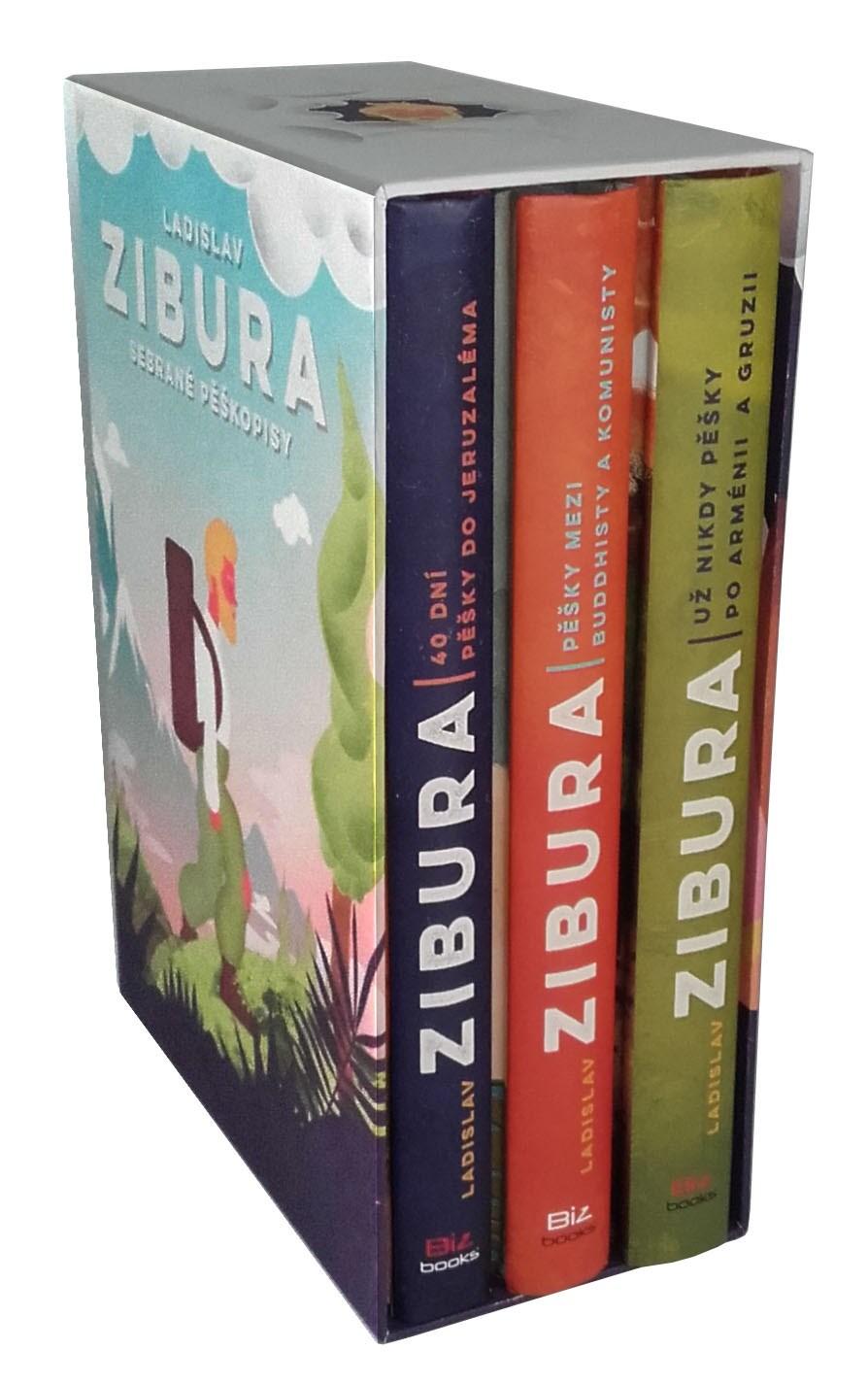 Ladislav Zibura: Sebrané pěškopisy (trojbox)