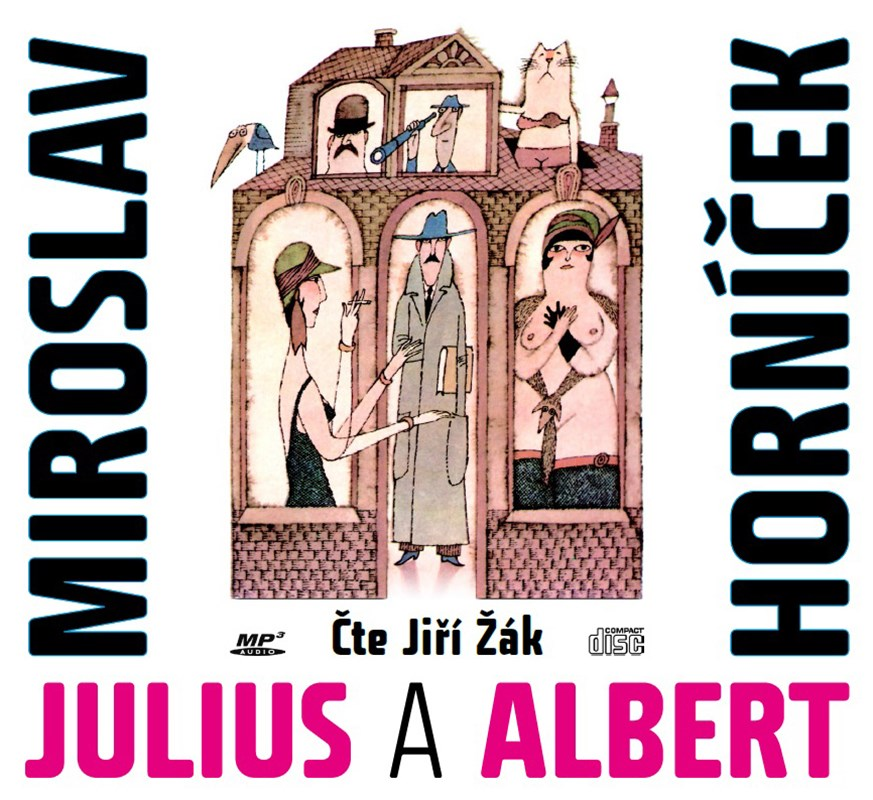 Julius a Albert (audiokniha)