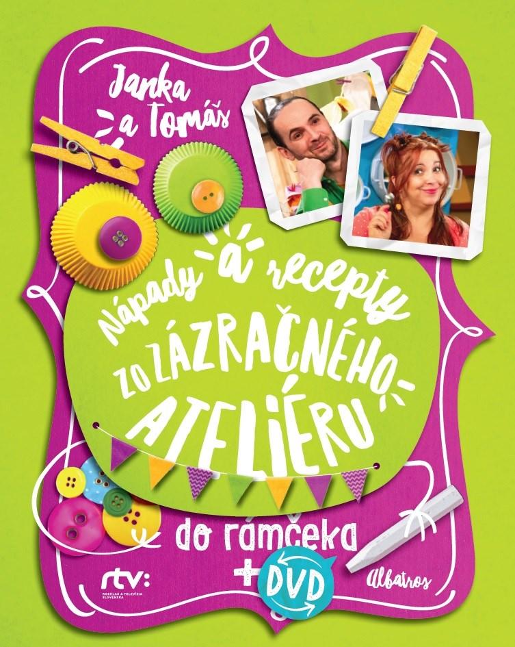 Janka a Tomáš Nápady a recepty zo Zázračného ateliéru  do rámčeka