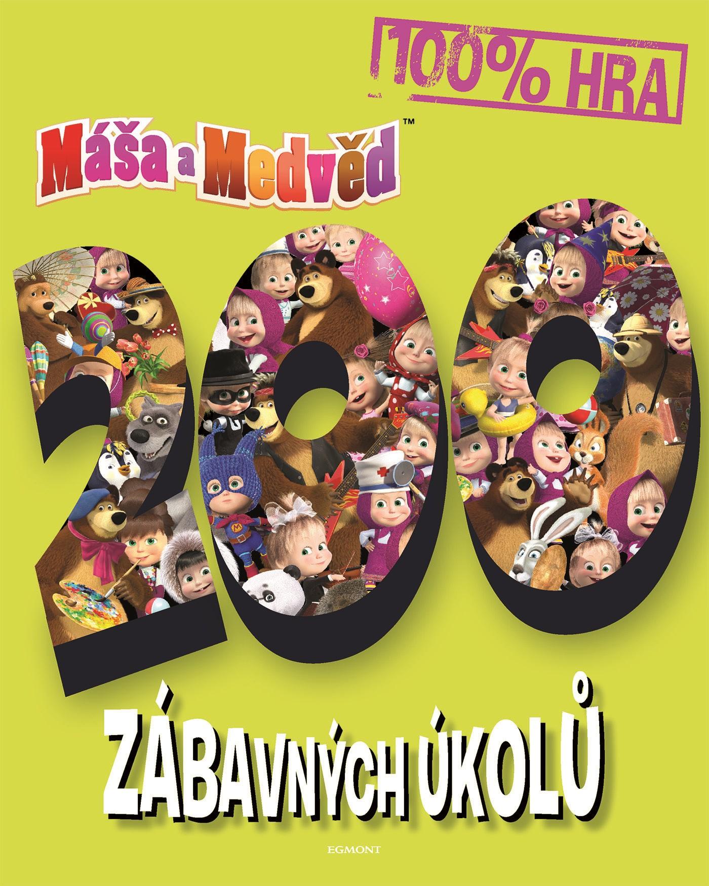 Máša a medvěd - 200 zábavných úkolů