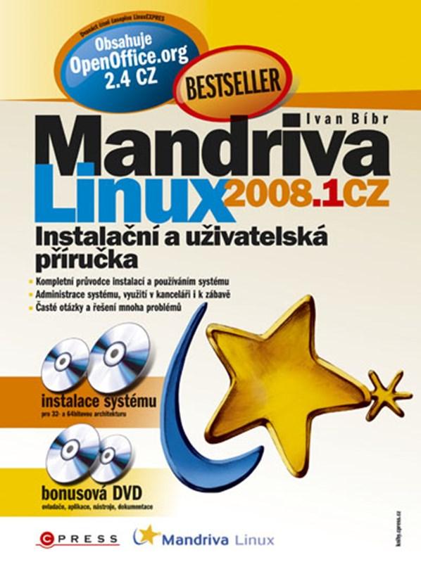 Mandriva Linux 2008.1 CZ + 4 DVD