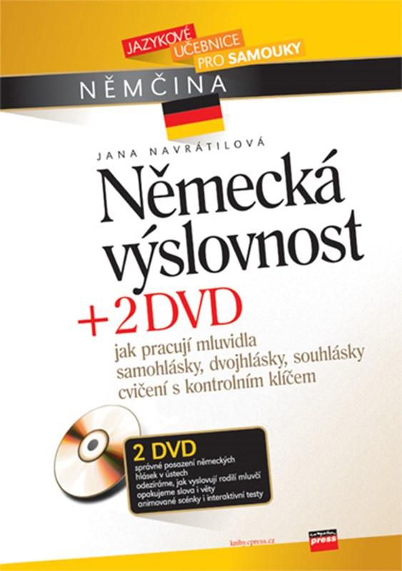 Německá výslovnost + 2 DVD