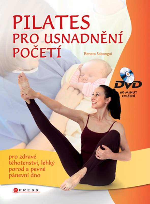 Pilates pro usnadnění početí + DVD